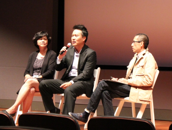 Q&A with director Khoa Trọng Nguyễn (center) on Instant Noodle (Vũ Điệu Đường Cong).