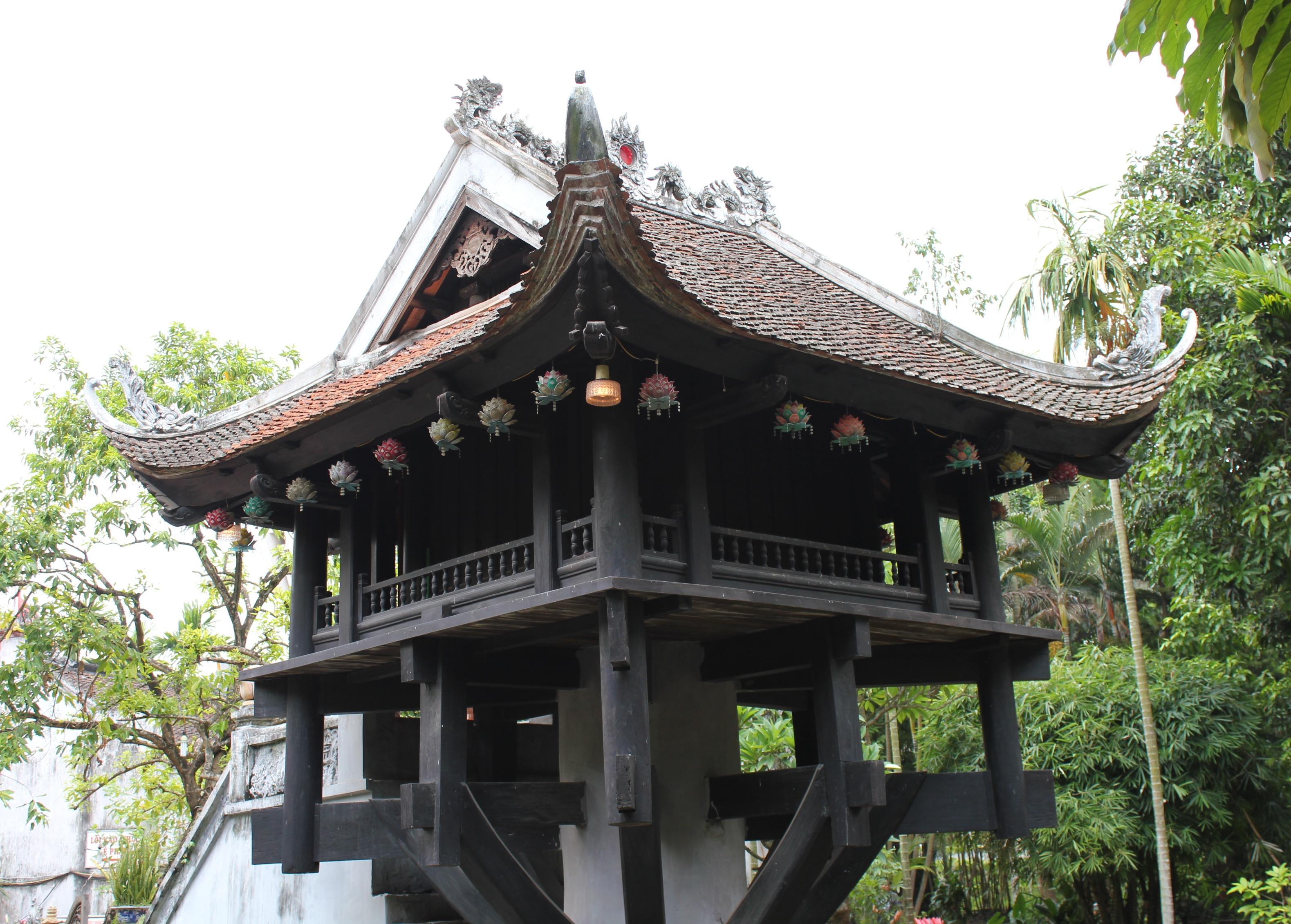 One pillar pagoda architecture 401 anvi ho ng for Mot architecture
